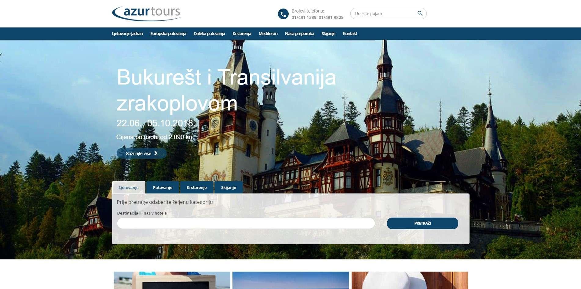 Putnička agencija Azur Tours