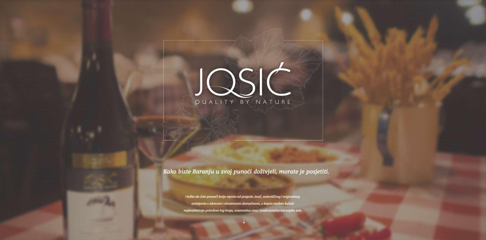 Restoran vinarija Josić