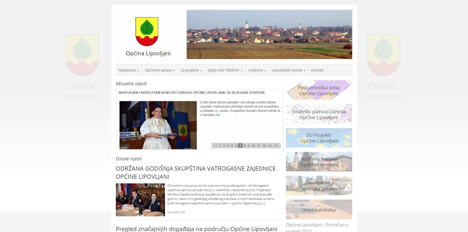 Općina Lipovljani